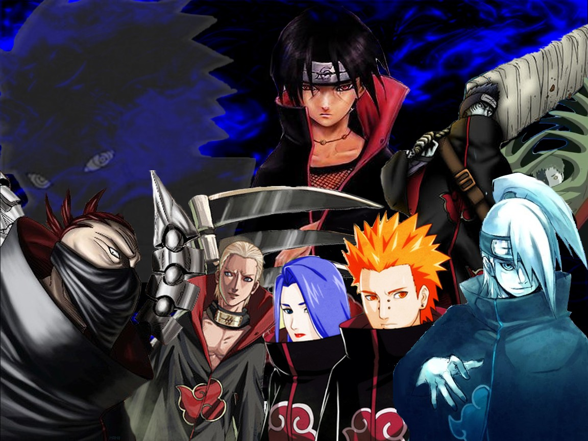 Naruto Characters: Naruto - Akatsuki Guide (Naruto Characters)