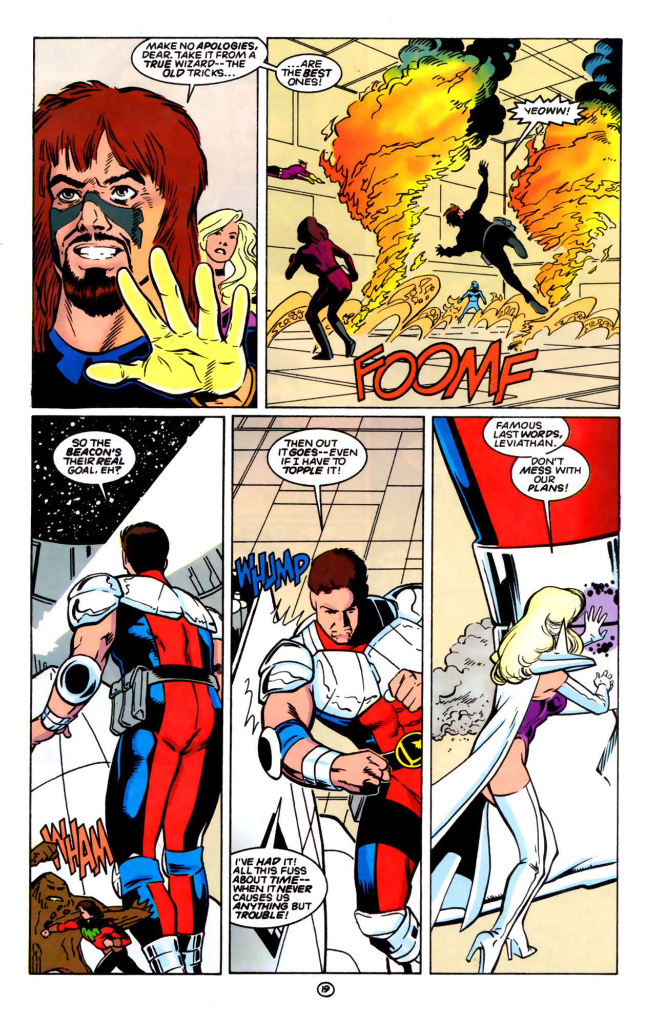 Legion of Super-Heroes (1989) 60 Page 18