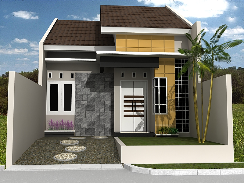 Bentuk Rumah Idaman Minimalis Sederhana