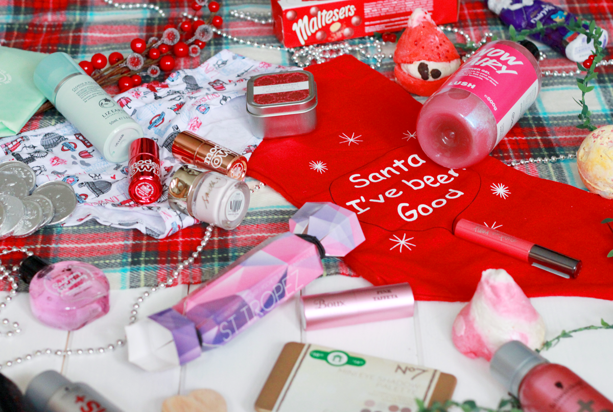Contents of a Christmas Stocking in the UK