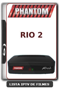 Phantom Rio 2 Nova Atualização Satélite SKS Keys 61w ON V1.059 - 28-03-2020
