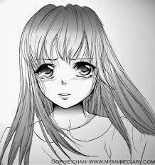 Gambar Hitam Putih Anime Jepang