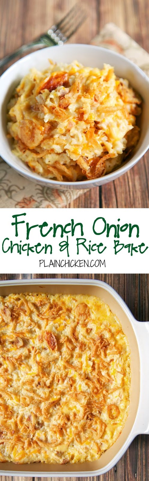 ★★★★☆ 7561 ratings | FRENCH ONION CHICKEN AND RICE BAKE  #HEALTHYFOOD #EASYRECIPES #DINNER #LAUCH #DELICIOUS #EASY #HOLIDAYS #RECIPE #DESSERTS #SPECIALDIET #WORLDCUISINE #CAKE #APPETIZERS #HEALTHYRECIPES #DRINKS #COOKINGMETHOD #ITALIANRECIPES #MEAT #VEGANRECIPES #COOKIES #PASTA #FRUIT #SALAD #SOUPAPPETIZERS #NONALCOHOLICDRINKS #MEALPLANNING #VEGETABLES #SOUP #PASTRY #CHOCOLATE #DAIRY #ALCOHOLICDRINKS #BULGURSALAD #BAKING #SNACKS #BEEFRECIPES #MEATAPPETIZERS #MEXICANRECIPES #BREAD #ASIANRECIPES #SEAFOODAPPETIZERS #MUFFINS #BREAKFASTANDBRUNCH #CONDIMENTS #CUPCAKES #CHEESE #CHICKENRECIPES #PIE #COFFEE #NOBAKEDESSERTS #HEALTHYSNACKS #SEAFOOD #GRAIN #LUNCHESDINNERS #MEXICAN #QUICKBREAD #LIQUOR
