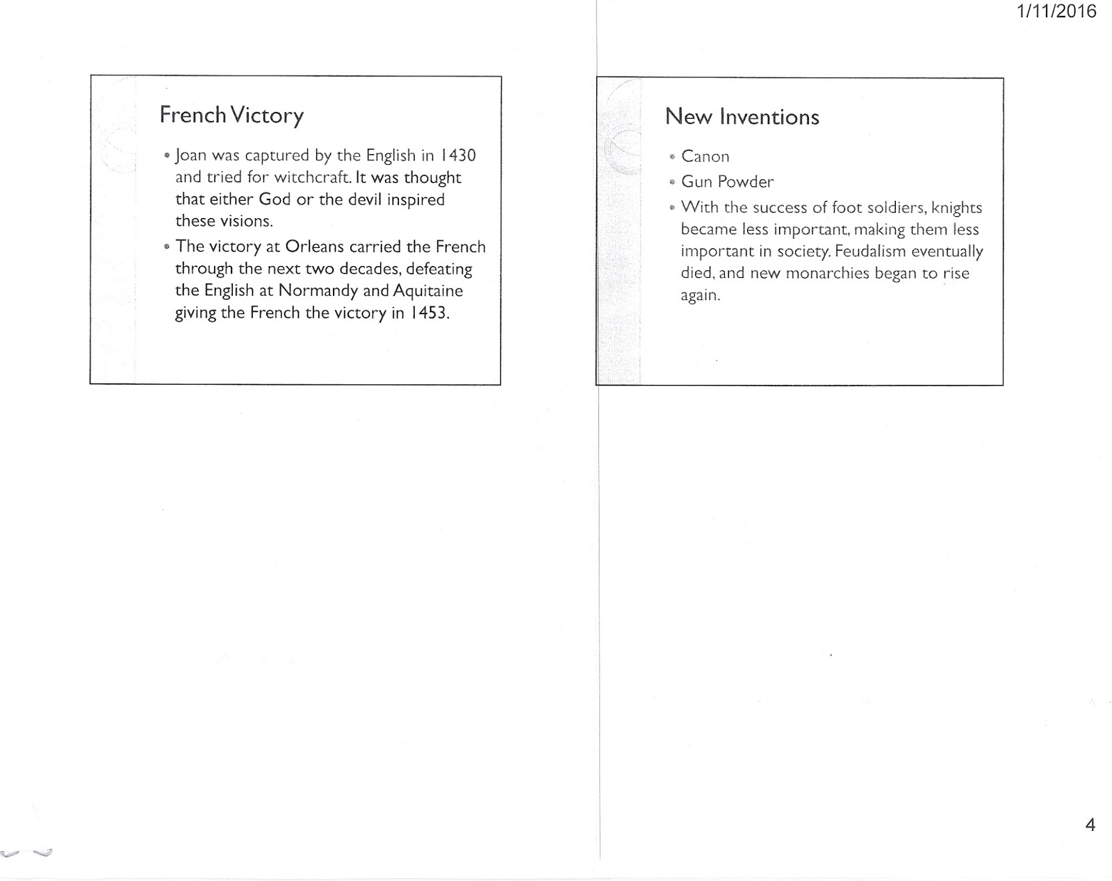 Hundred Years War Map Worksheets
