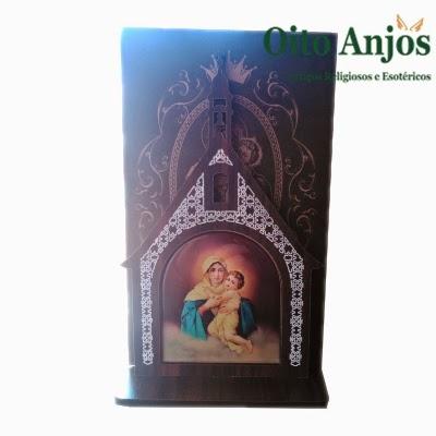 Imagem Mãe Rainha| Oito Anjos Artigos Religiosos e Loja Esotérica