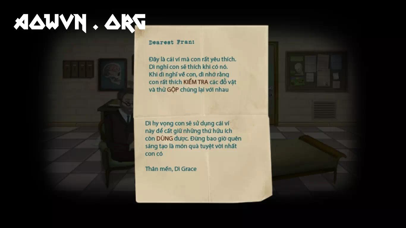 fran bow viet hoa game android ios aowvn%2B%25284%2529 - [ FIX ] Fran Bow Việt Hóa Full 5 Chapter | Game Android Giải Đố Kinh Dị Tuyệt Hay