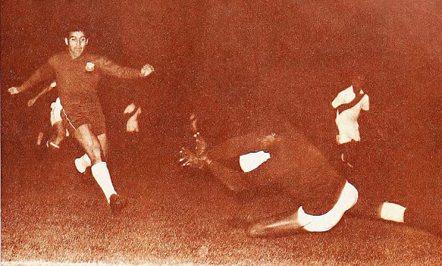 Chile y Perú en Copa del Pacífico 1965, 15 de abril