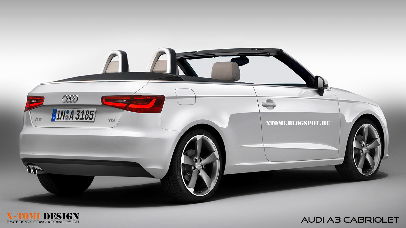 x tomi design audi a3 cabriolet. Black Bedroom Furniture Sets. Home Design Ideas