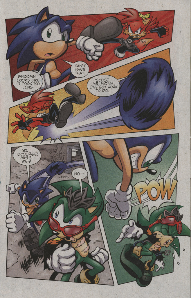 Read online Sonic The Hedgehog comic -  Issue #194 - 17