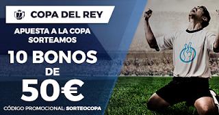 Paston Sorteo Copa del Rey 10 bonos 50 euros 19-25 enero