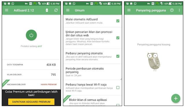 AdGuard - Aplikasi Blokir Iklan Terbaik untuk Android