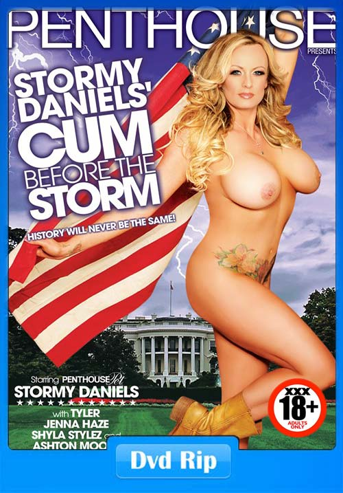 [18+] Stormy Daniels Cum Before The Storm XXX 2018 Porn DVDRip x264 Poster
