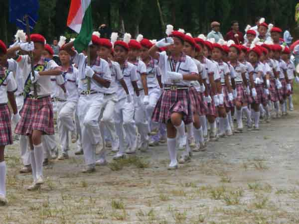 15th august Independence day celebration mungpoo
