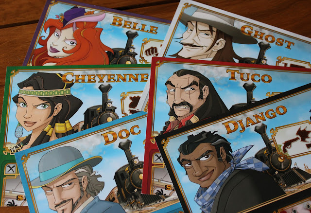 Colt Express character cards