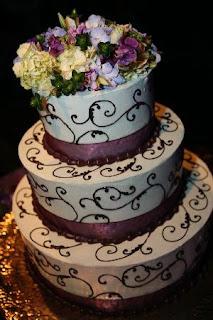 Winter Confectionery Wedding Cakes