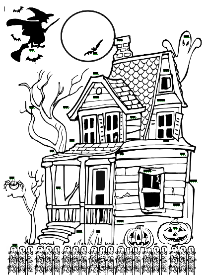 1st Grade Learning Stars: Spooky Haunted House Part Two