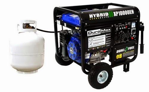 Recommended 10,000 Watt Hybrid Gas & Propane Generator