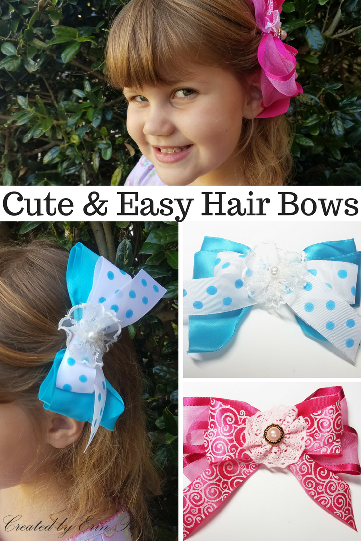 Scraps Of Reflection Cute Diy Hairbows With Decofun Bowmaker