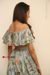 Actress Pragya Jaiswal Stills in Floral Dress at turodu Interview  0099.JPG
