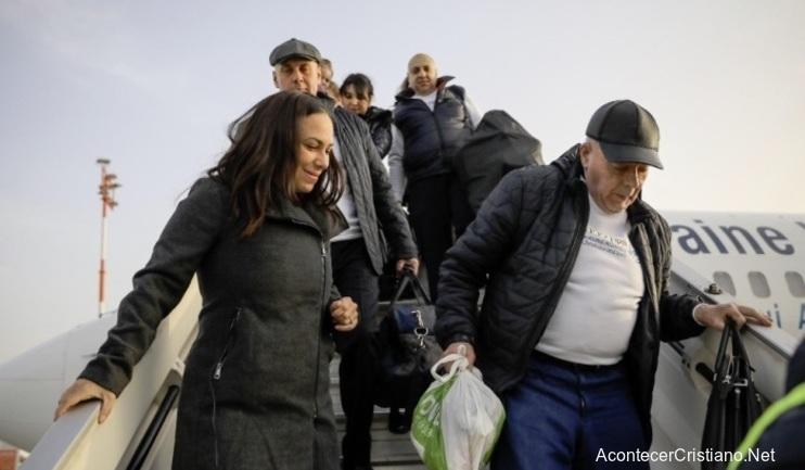 Judíos llegando a Israel
