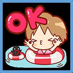 Sana: Summer Stickers