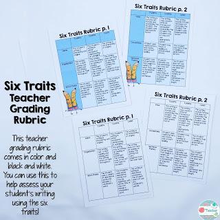 Six Traits Grading Rubric