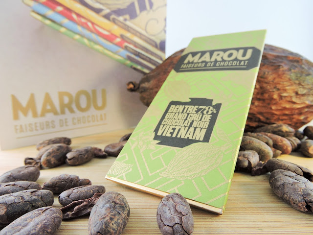 Tablette Marou faiseurs de chocolas bean-to-bar au vietnam