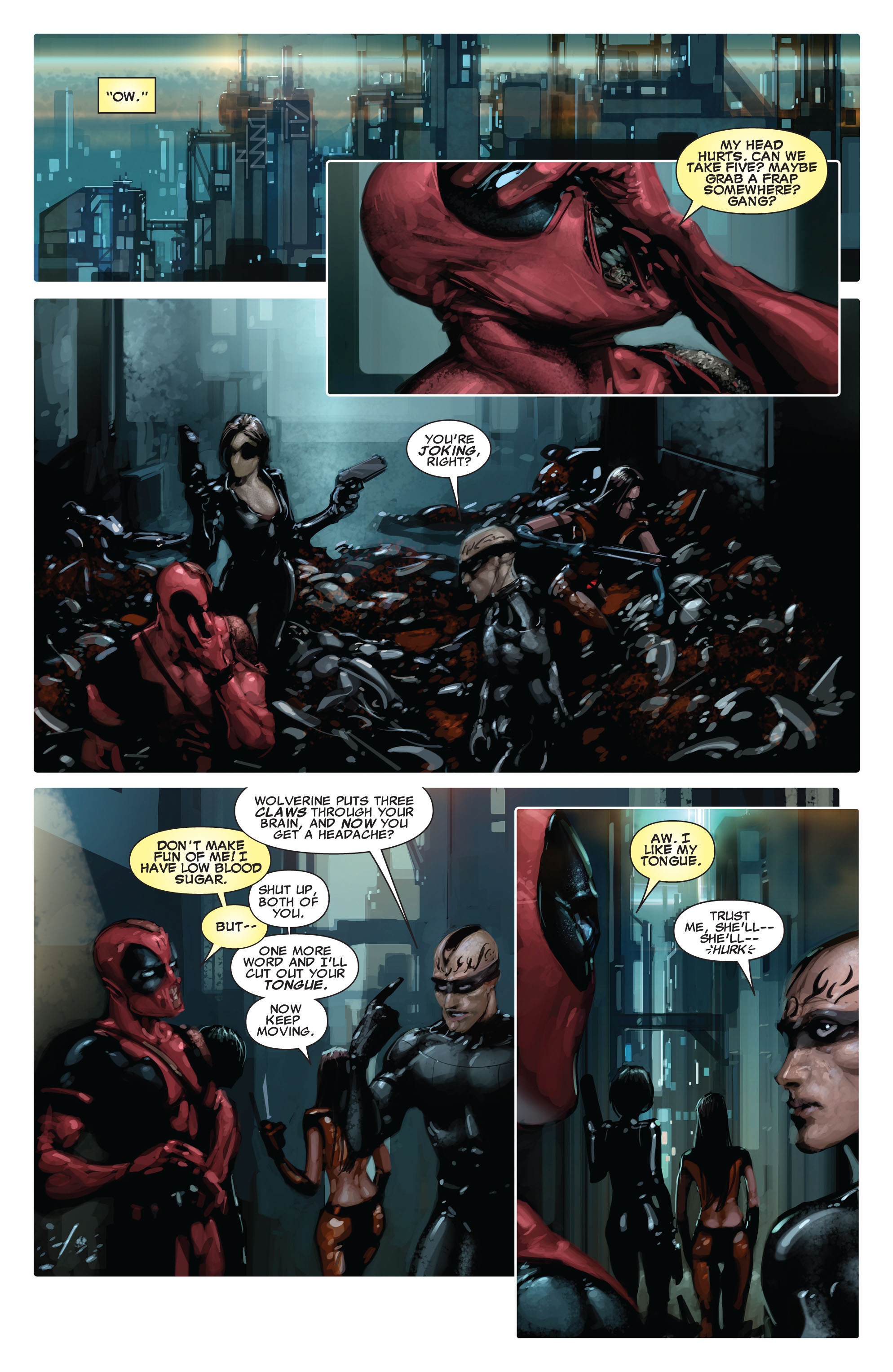 Read online X-Force (2008) comic -  Issue #15 - 8