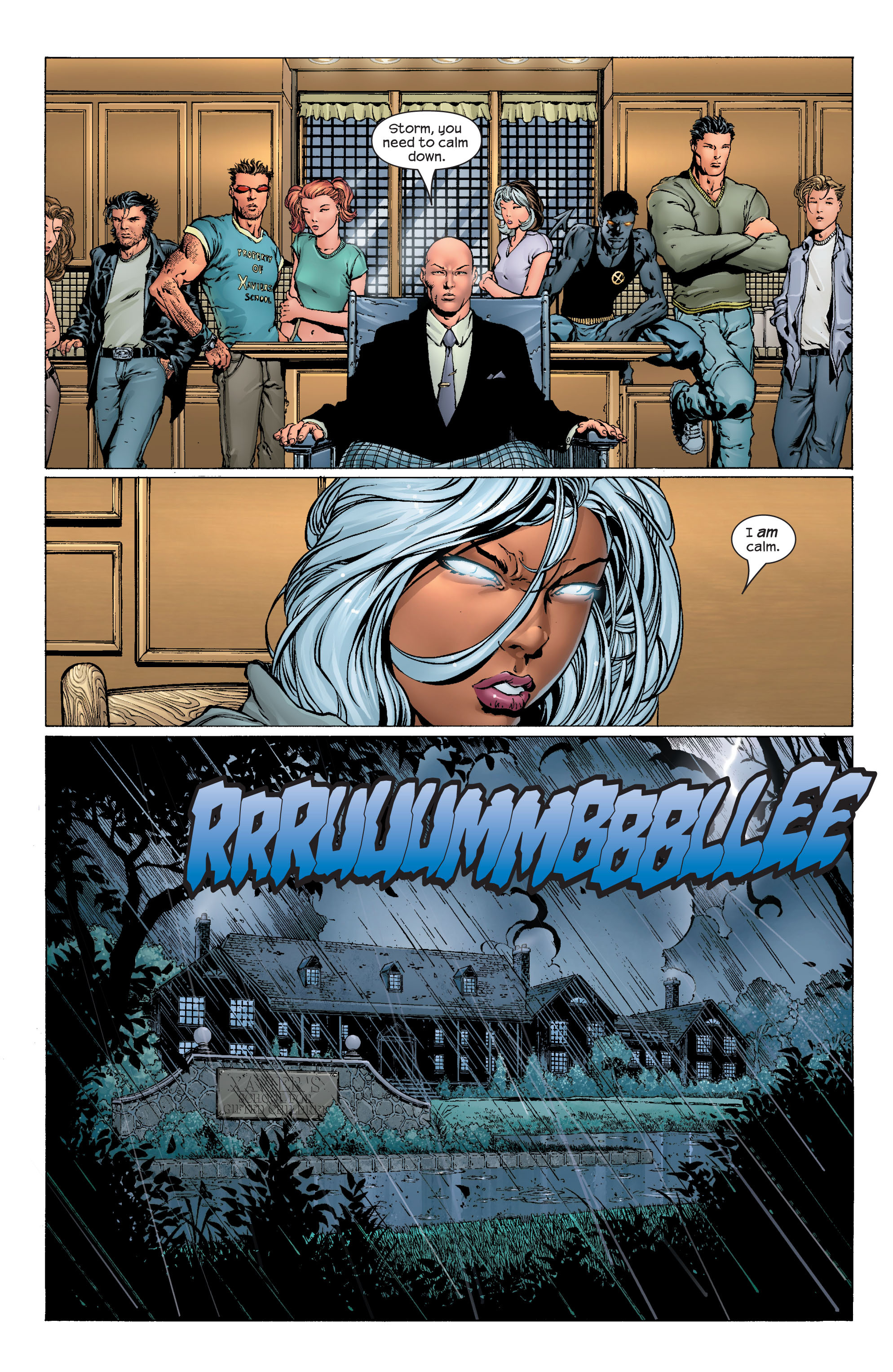 Read online Ultimate X-Men comic -  Issue #43 - 2
