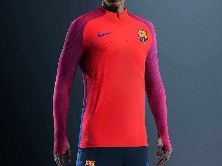 Colección Nike Strike para el FC Barcelona 2016 17 b493d498593