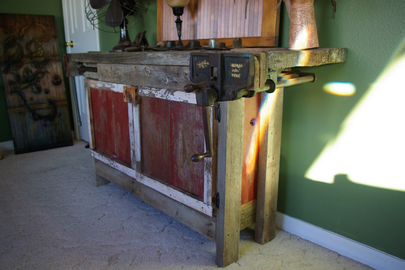 Reclaimed Rustics Entertainment Center