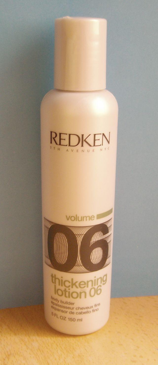 Miss Potingues: Redken Thickening Lotion 06, cuerpo para los cabellos finos.