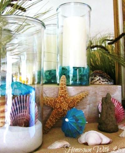 beach vases