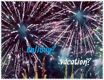 vacation holiday american british