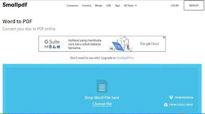 Website Pengubah Dokumen menjadi Pdf