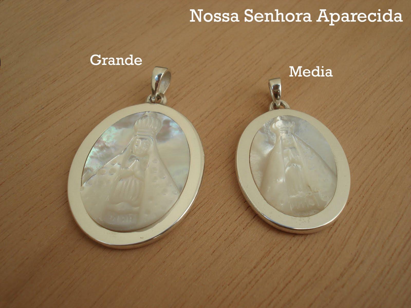 Nossa Senhora Aparecida Joias: Joias E Design: As Medalhas Camafeu