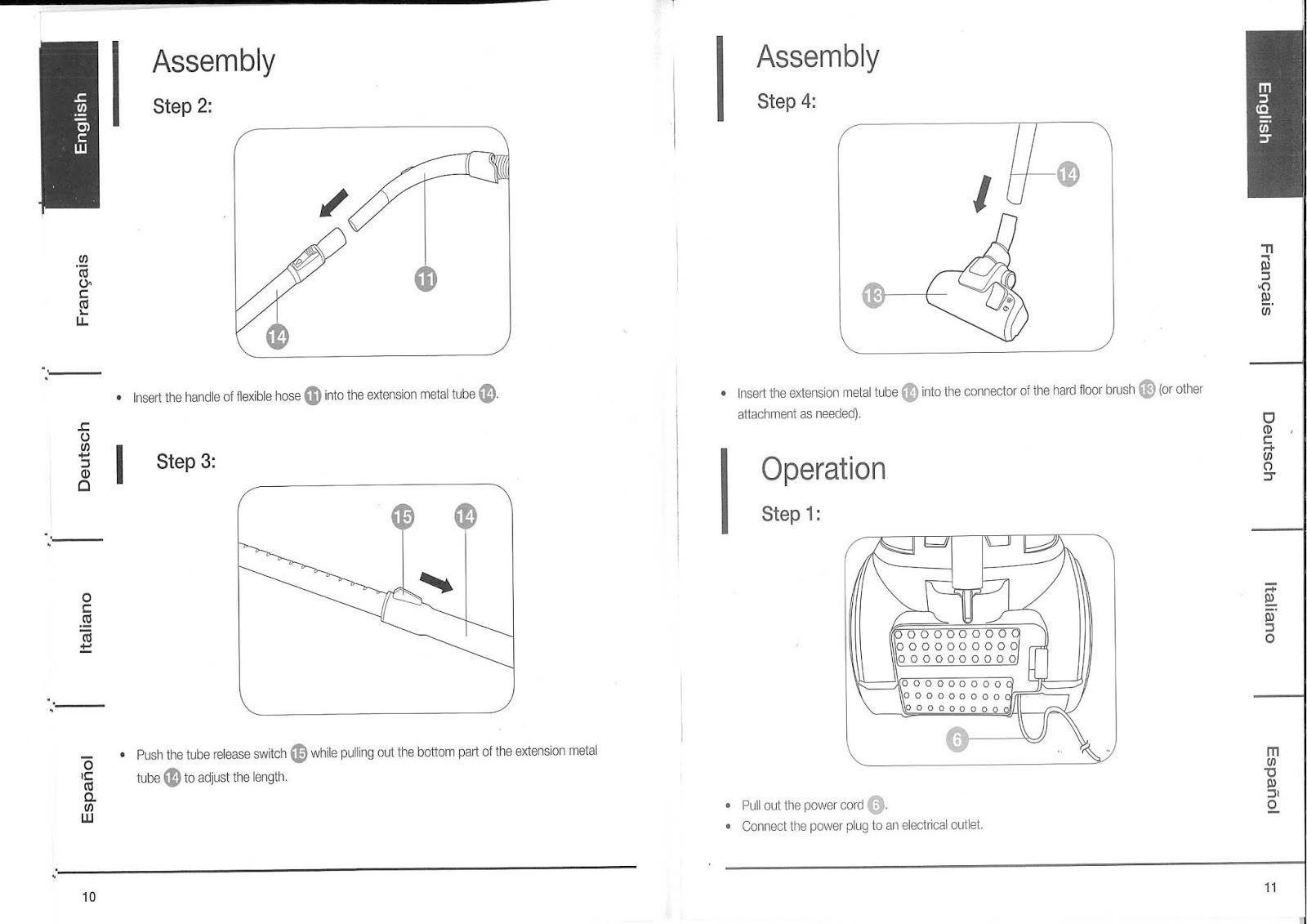 Amazon Basics Bagless Cylinder Vacuum Cleaner
