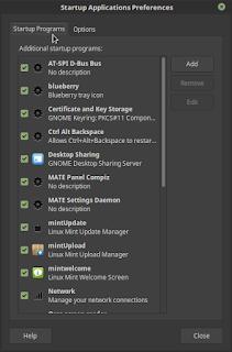 Mengatur Start Up di Linux Mint