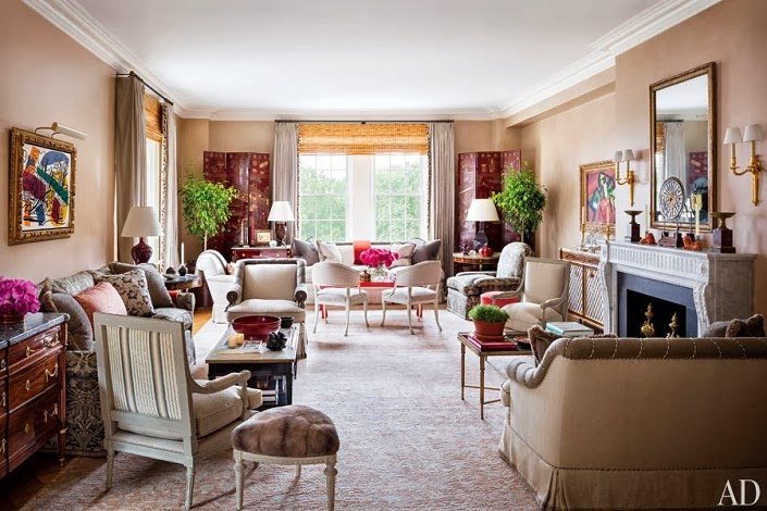 Mix And Chic Home Tour An Elegant New York Apartment In