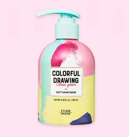 Colorful Drawing Soft Hand Wash