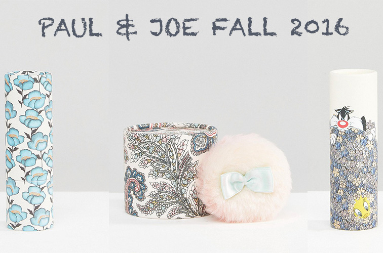paul & joe maquillage fall automne 2016 collection disney