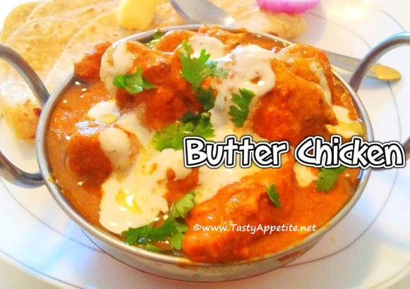 how to make butter chicken video