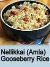 Nellikkai/Amla/Gooseberry Rice