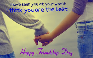Messages on friendship Day