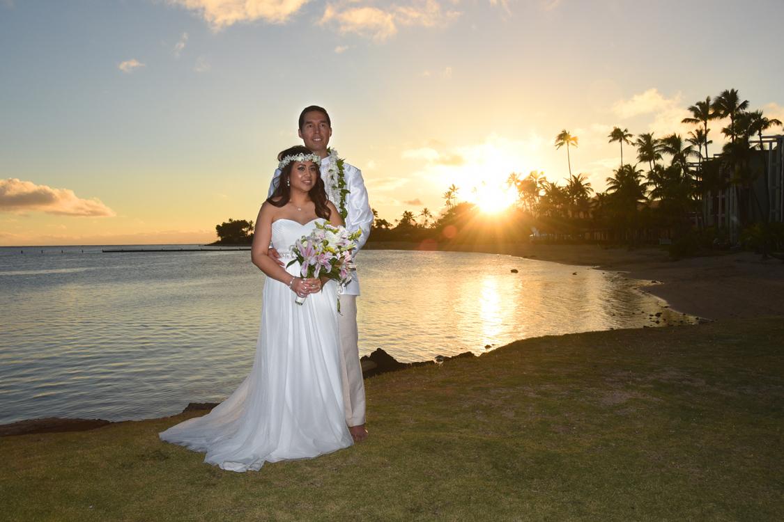 Honolulu Weddings Kahala Sunset