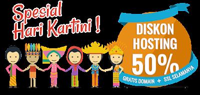 Gratis Domain, Hosting Murah 2016, Diskon 50% Niagahoster