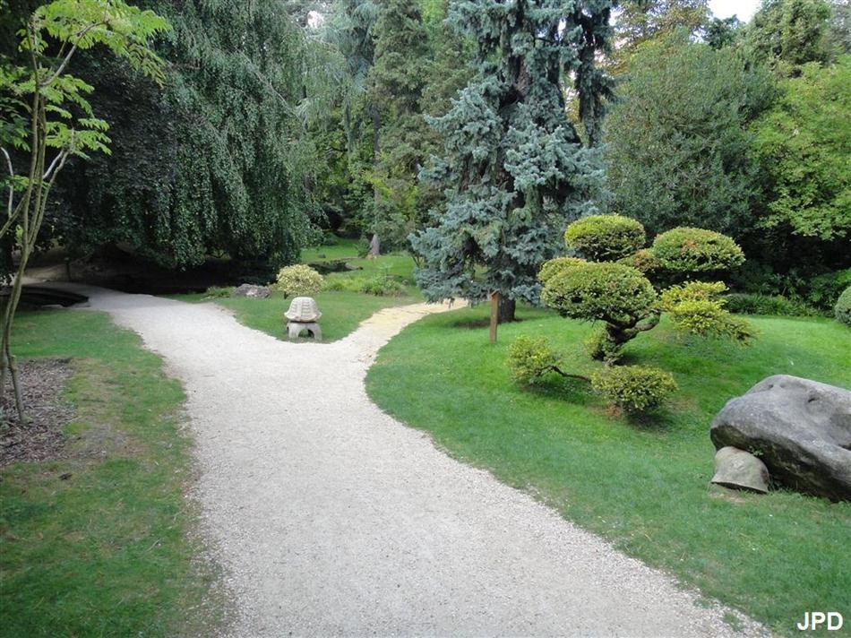 Paris bise art parc edmond de rothschild boulogne - Jardin japonais boulogne billancourt ...