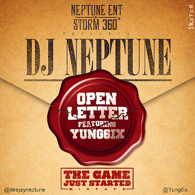Dj Neptune -  Open Letter (Cover) ft Yung6ix