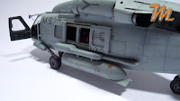US NAVY helicopter Sikorsky HH-60H SeaHawk 1/48 Italeri