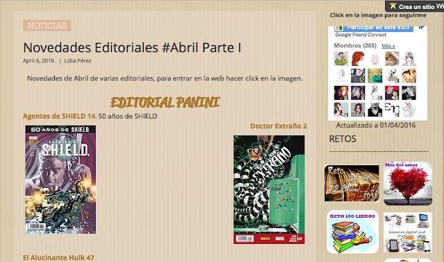 http://yerathel41.wix.com/agarratevienenlibros#!Novedades-Editoriales-Abril-Parte-I/ulspz/56fe5a6d0cf21ff2b5fc8ff3